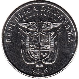 Panama 1/4 Balboa 2016 Reversion of de Canal to Panama in 1999