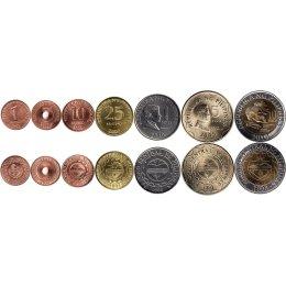 Philippinen 1, 5, 10, 50 Sentimo, 1, 5, 10 Piso