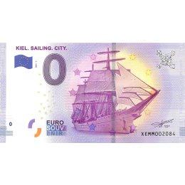 Deutschland 0-Euro Schein 2017-1 KIEL. SAILING. CITY.  >5000