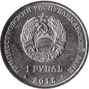 "Transnistrien 1 Ruble 2018 ""Church of the Intercession of the Holy Virgin in Tiraspol"""