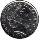 """Neuseeland 50 Cents 2018 """"Centenary of Armistice..."""