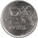 "Russland 1 Rubel 2014 ""Rouble symbol"""