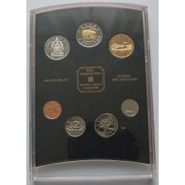 Kanada 1, 5, 10, 25, 50 Cents 1, 2 Dollars 1999