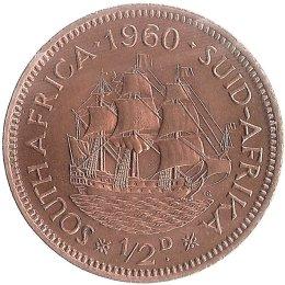 Suedafrika 1/2 Cent 1960