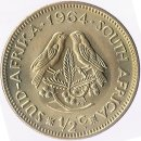 Suedafrika 1/2 Cent 1964