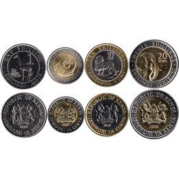 Kenia 1, 5, 10, 20 Shillings 2018