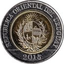 """Uruguay 10 Pesos 2015 """"Lands Law"""""""
