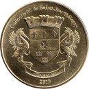 """Saint Barthelemy 1 Franc 2019 """"Cocker Spaniels"""" HUND DOG"""