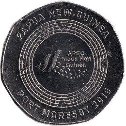 """Papua-Neuguinea 50 Toea 2018 """"Port Moserby"""""""