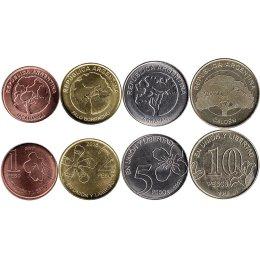Argentinien 1, 2, 5, 10 Pesos 2017-2018
