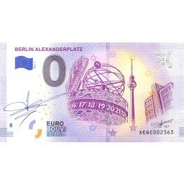 Deutschland 0-Euro Schein 2019-1 BERLIN ALEXANDERPLATZ SIGNATUR