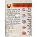 Transnistrien 1, 5, 10, 25, 50 Kopeek 2000/2005 Blister