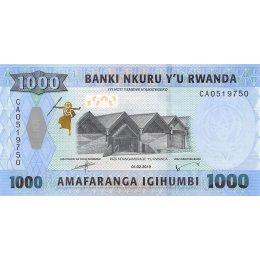 Ruanda 1000 Francs 2019
