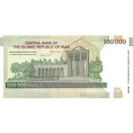 Iran 100.000 Rials 2010