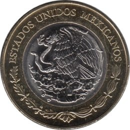 Mexiko 20 Pesos 2013 100 years of the Mexican Army