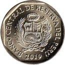 """Peru 1 Sol 2019 """"Mono choro cola amarilla"""""""