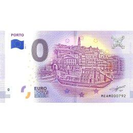 """Portugal 0-Euro Schein 2018-1 """"PORTO"""""""