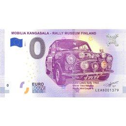 Finnland 0-Euro Schein 2018-1 *MOBILIA KANGASALA - RALLY MUSEUM FINLAND*