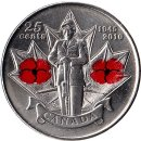 Kanada 25 Cents 2010 Honour Remembrance Day