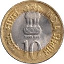 "Indien 10 Rupees 2010 ""75th Anniversary of the..."