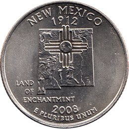 USA Quarter 2008 New Mexico D