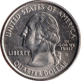 USA Quarter 2002 Mississippi D