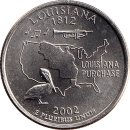 USA Quarter 2002 Louisiana D