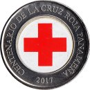 Panama 1 Balboa 2017 Centenary of the Panamanian Red Cross