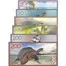Aldabra Island 5, 10, 20, 50, 100 Pounds FANTASY