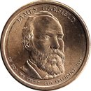 "USA 1 Dollar 2011 ""James Garfield"" D"