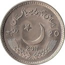 """Pakistan 20 Rupees 2011 """"150 Years Celebrations of..."""