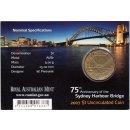 "Australien 1 Dollar 2007 ""75th Anniversary of the..."
