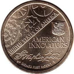 USA 2 x 1 Dollar 2018 American Innovation - Introductory Coin P+D