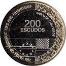 "Kap Verde 200 Escudos 2018 ""200 YEARS OF HISTORIC..."