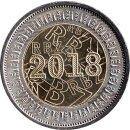 """Simbabwe 2 Dollar 2018 """"BOND COIN"""""""