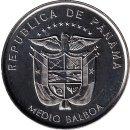 """Panama 1/2 Balboa 2019 """"500 years of Foundation of..."""