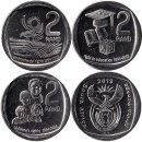 Suedafrika 3 x 2 Rand 2019