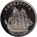 "Gilbert Islands 1 Dollar 2014 ""Endeavour"""