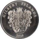 """Gilbert Islands 1 Dollar 2018 """"Nipoon Maru"""""""