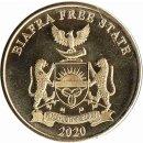 """Biafra 10 Shillings 2020 """"Struthio Camelus"""""""