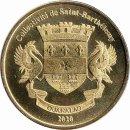"Saint Barthelemy 1 Franc 2020 ""Irish Red..."