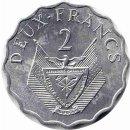 """Ruanda 2 Francs 1970 """"FAO"""""""