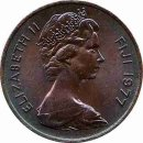 "Fidschi 1 Cent 1977 ""FAO"""