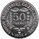 Westafrikanische Staaten 50 Francs 1976