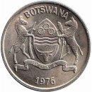 Botswana 25 Thebe 1976