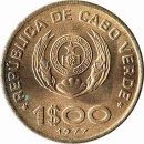 "Kap Verde 1  Escudo 1977 ""FAO"""