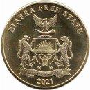 """Biafra 10 Shillings 2021 """"CAMELUS DROMEDARIUS"""""""