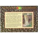 Guyana 1, 5, 10, 25 Cents im Folder