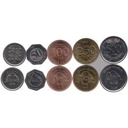 Libanon 25, 50, 100, 250, 500 Livres