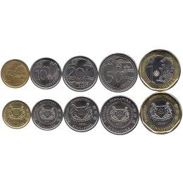 Singapur 5 10 20 50 Cents 1 Dollar 2013 499
